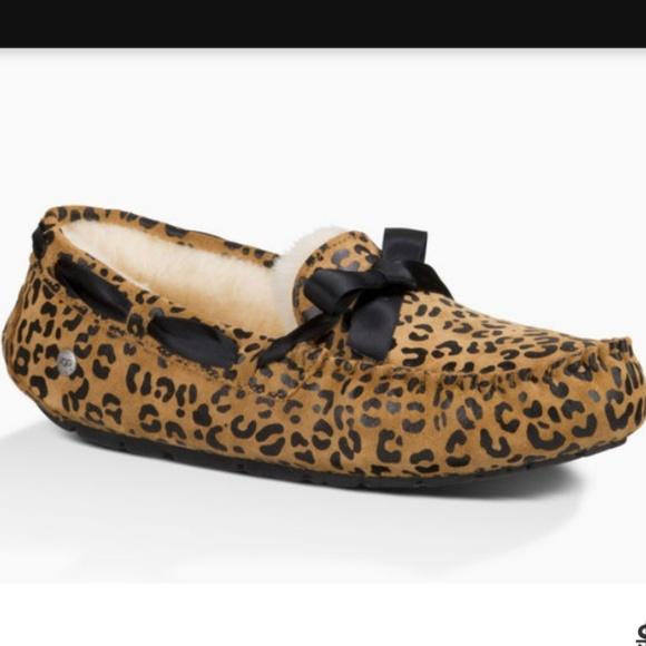 d5a7be37a9b Ugg Dakota Leopard loafer NWT
